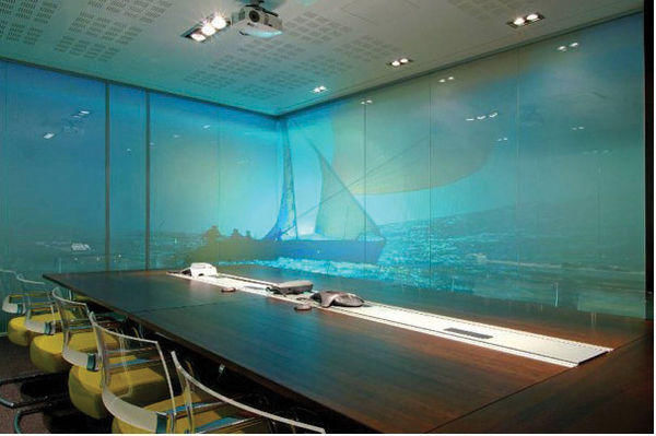 GLASSOLUTIONS France - Projection screen-GLASSOLUTIONS France-Priva Lite