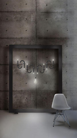 Beau & Bien - Hanging lamp-Beau & Bien-Wersailles Carbone