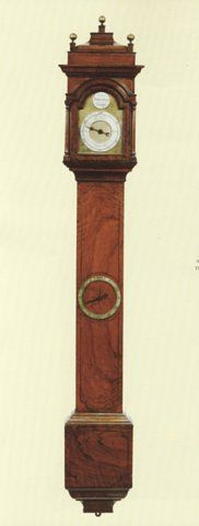 JOHN CARLTON-SMITH - Wall clock-JOHN CARLTON-SMITH-John Whitehurst, Derby Derby