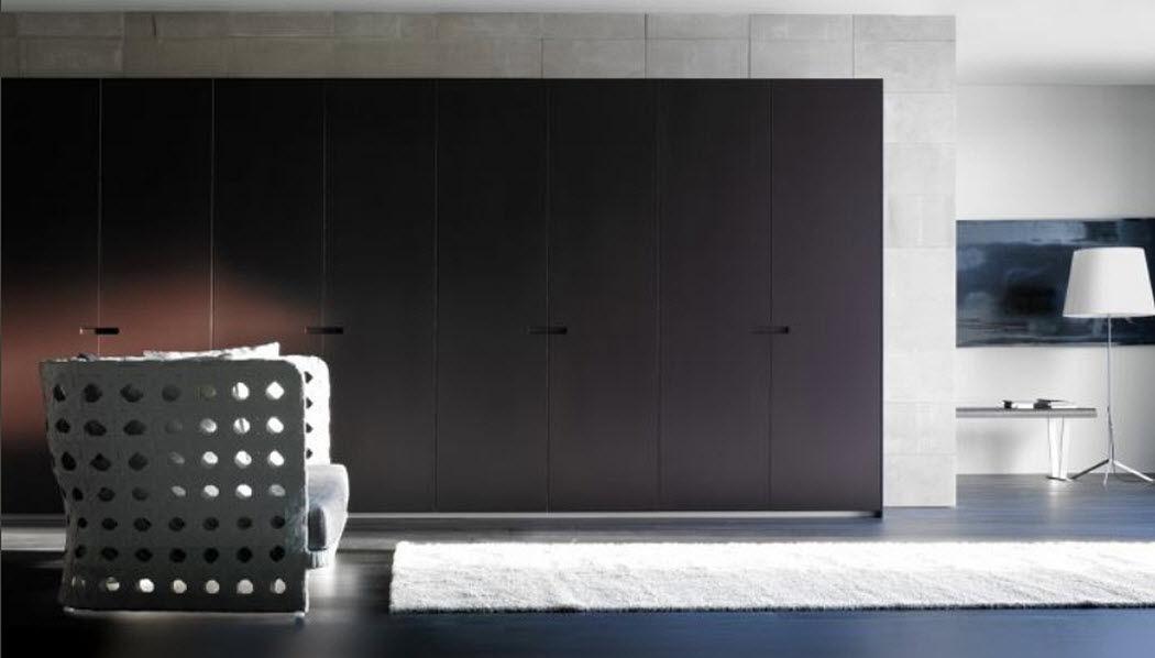 KALLMAR Schrank mit Stoffvorhang Schränke Garderobe  |