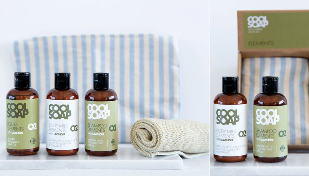 THE COOL PROJECTS Wellness Geschenkset Seife Bad Sanitär  |