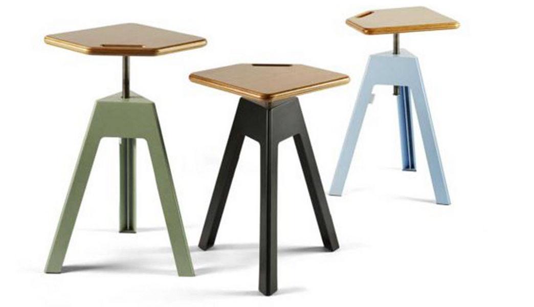 Nautinox Verstellbarer Barhocker Schemel und Beinauflage Sitze & Sofas  |