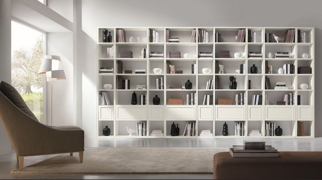 Chiavegato Offene-Bibliothek Bücherregale Regale & Schränke  |