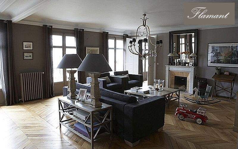 Flamant Sofarückwand Beistelltisch Tisch Wohnzimmer-Bar   Klassisch