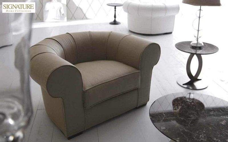 SIGNATURE HOME COLLECTION Clubsessel Sessel Sitze & Sofas Wohnzimmer-Bar | Design Modern
