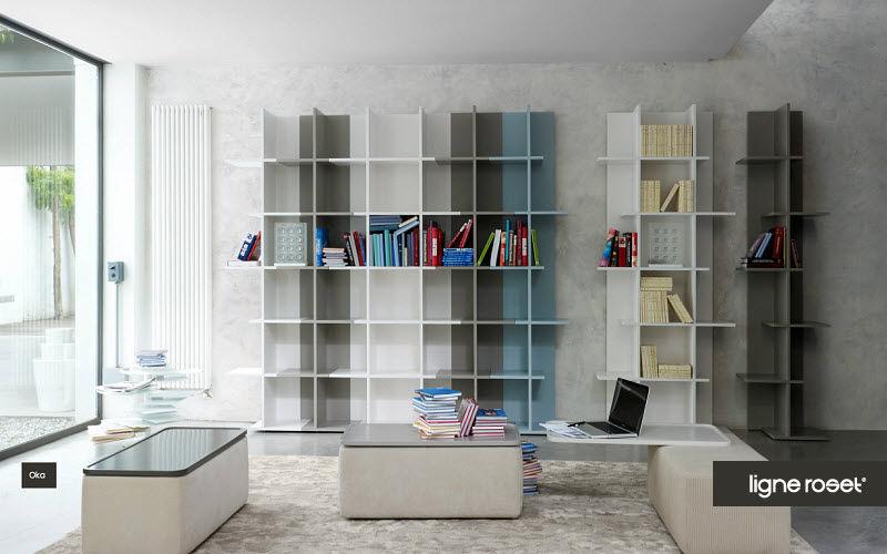 Ligne Roset Offene-Bibliothek Bücherregale Regale & Schränke Wohnzimmer-Bar |