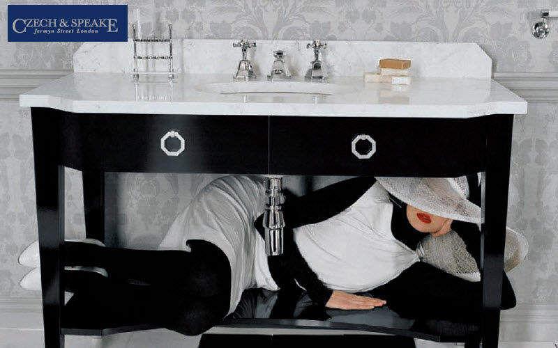 Czech & Speake Waschtisch Möbel Badezimmermöbel Bad Sanitär Badezimmer | Klassisch