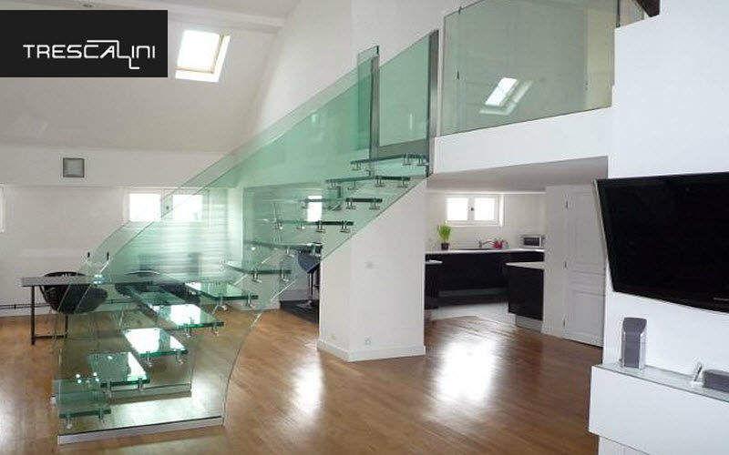 TRESCALINI Gerade Treppe Treppen, Leitern Ausstattung Eingang |