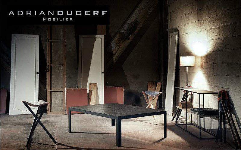 ADRIAN DUCERF Rechteckiger Couchtisch Couchtische Tisch Wohnzimmer-Bar | Land