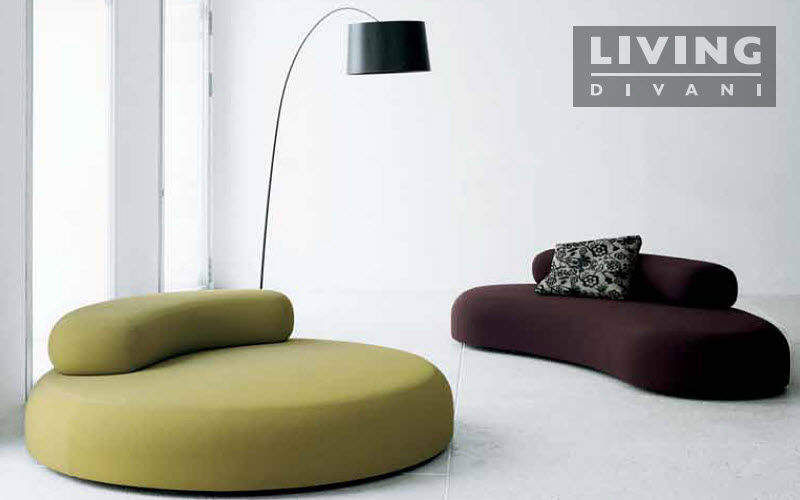 Living Divani Gepolsterte Bank Sitzbänke Sitze & Sofas  |