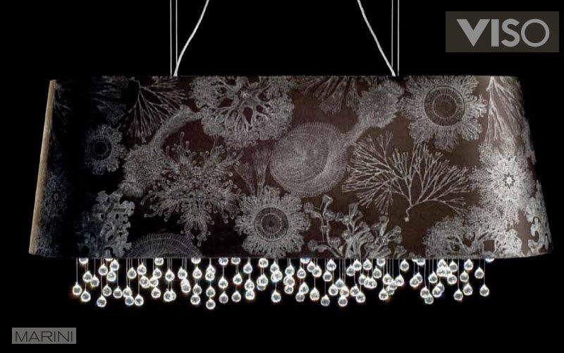 VISO Deckenlampe Hängelampe Kronleuchter und Hängelampen Innenbeleuchtung Esszimmer | Design Modern