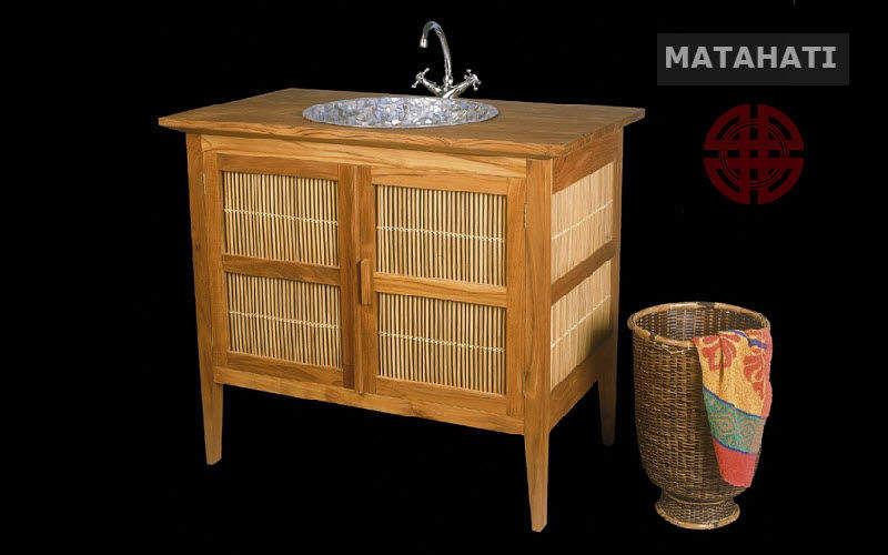 Matahati Waschtisch Möbel Badezimmermöbel Bad Sanitär Badezimmer | Exotisch