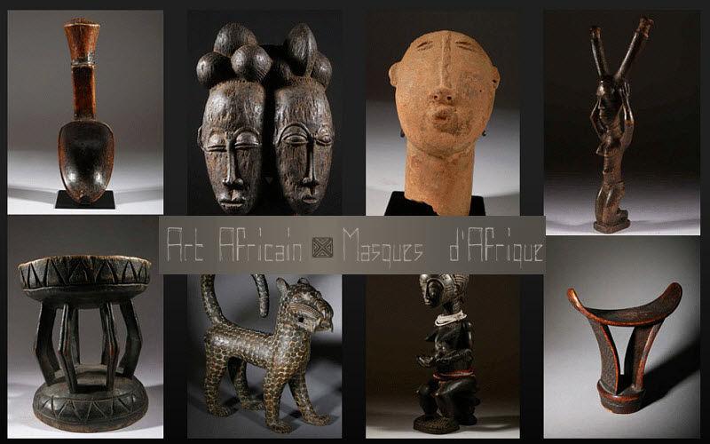 Art-africain.fr Maske aus Afrika Masken Dekorative Gegenstände  | Exotisch