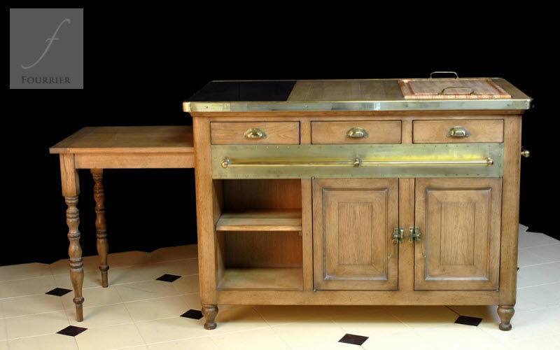 Fourrier Mobilier Küchenblock Arbeitsplatten und Anrichten Küchenausstattung  |