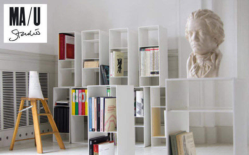 MA/U Studio Modulares Ablagesystem Schränke und Regale Büro Wohnzimmer-Bar | Design Modern