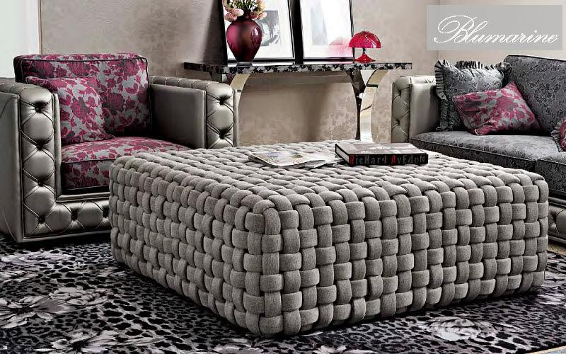 Blumarine Home Collection Sitzkissen Schemel und Beinauflage Sitze & Sofas  |
