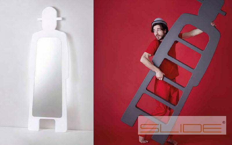 SLIDE Schwenkbarer Ankleidespiegel Spiegel Dekorative Gegenstände Eingang | Unkonventionell