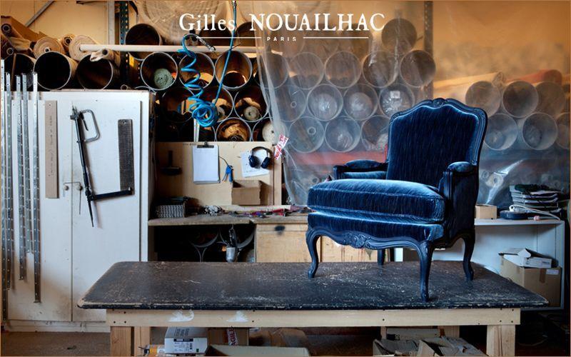 Gilles Nouailhac Bergère-Sessel Sessel Sitze & Sofas  |