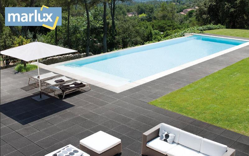 MARLUX Bodenplatten Außenbereich Außenböden Böden Garten-Pool | Design Modern