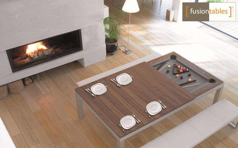 FUSIONTABLES Rechteckiger Esstisch Esstische Tisch Wohnzimmer-Bar   Design Modern