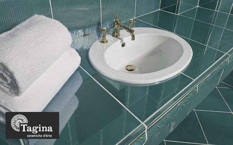 TAGINA waschtischplatte Waschbecken Bad Sanitär  |