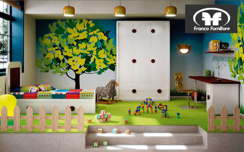 Franco Furniture Jugendzimmer Kinderzimmer Kinderecke  |