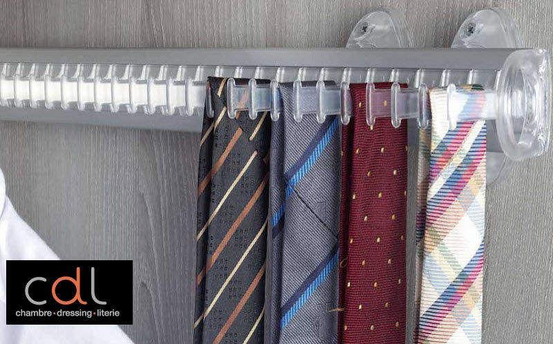 CDL Chambre-dressing-literie.com Krawattenbügel Ankleideraumaccessoires Garderobe  |