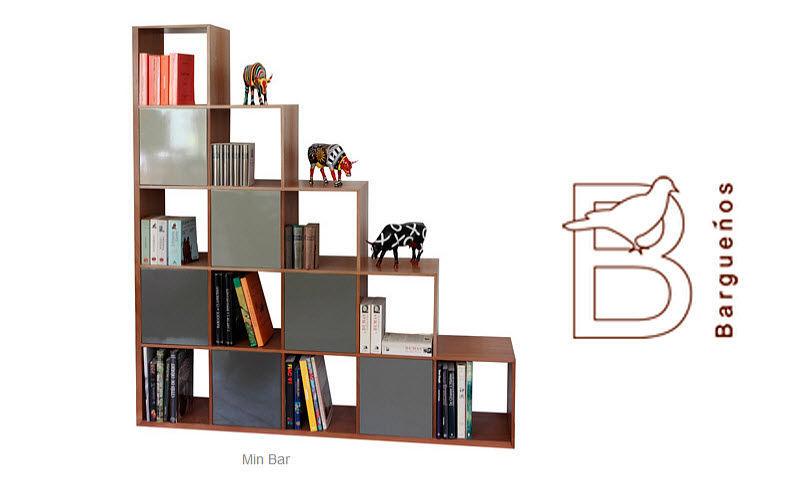 BARGUENOS Offene-Bibliothek Bücherregale Regale & Schränke  |