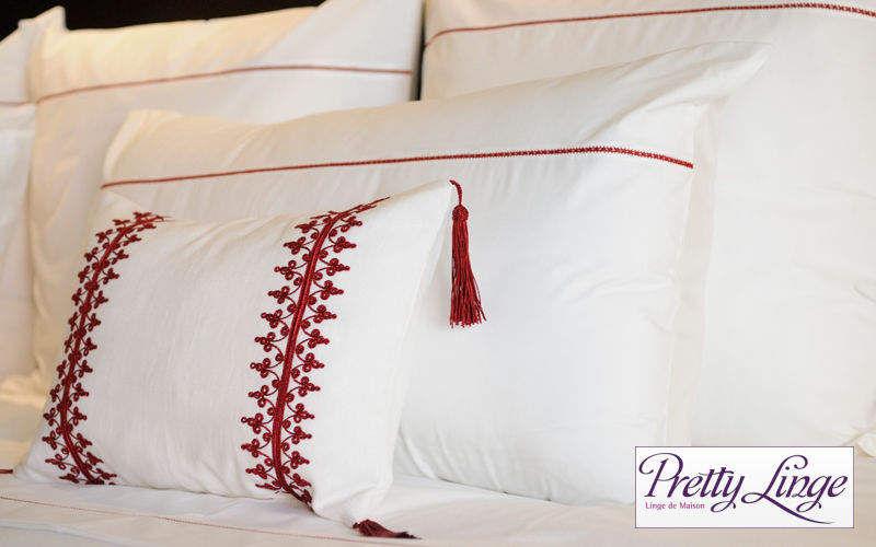 PRETTY LINGE Kopfkissenbezug Kissen, Polster und Bezüge Haushaltswäsche Schlafzimmer | Klassisch