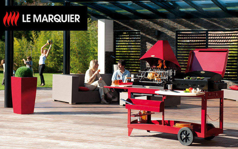 Le Marquier Holzkohlegrill Grill Außen Diverses   