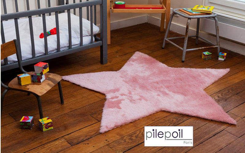 Pilepoil : Fausse Fourrure Kinderteppich Dekoration für Kinder Kinderecke  |