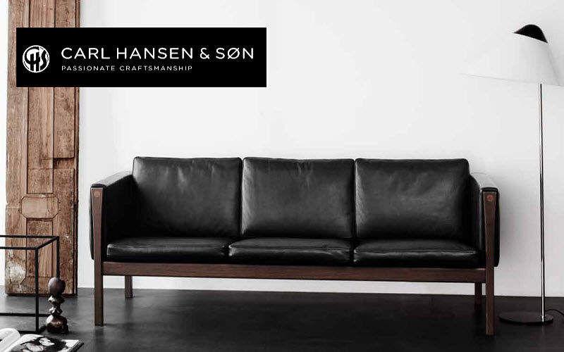 Carl Hansen & Son Sofa 3-Sitzer Sofas Sitze & Sofas   