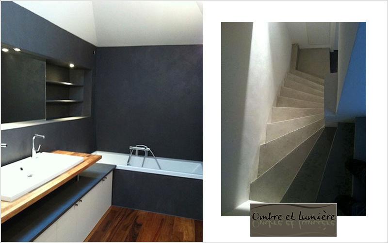Ombre et lumière Wachsbeton für Wände Andere Wandverkleidungen Wände & Decken  |