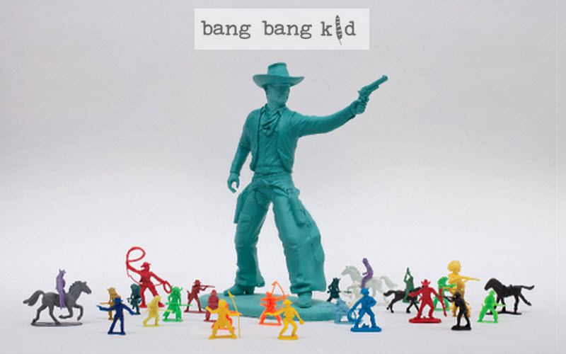 bang bang kid Spielfiguren Dekoration für Kinder Kinderecke  |