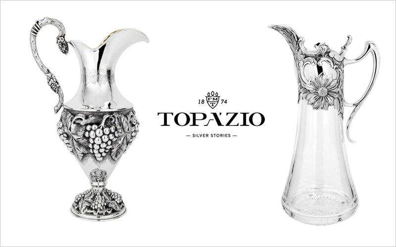 Topazio Antike Karaffe Flaschen und Karaffen Glaswaren  |