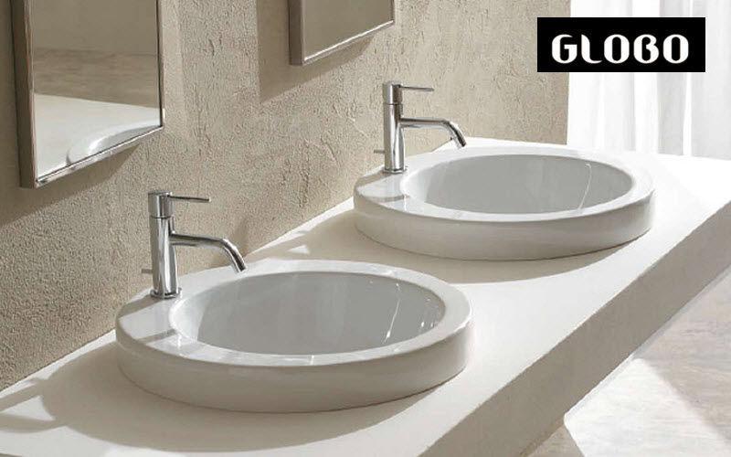 GLOBO Einbauwaschbecken Waschbecken Bad Sanitär   