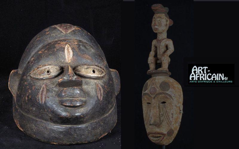 Art-africain.fr Maske aus Afrika Masken Dekorative Gegenstände  |