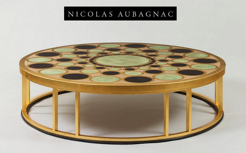 Nicolas Aubagnac Runder Couchtisch Couchtische Tisch  |