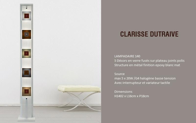 Ateliers Clarisse Dutraive Stehlampe Stehlampe Innenbeleuchtung  |