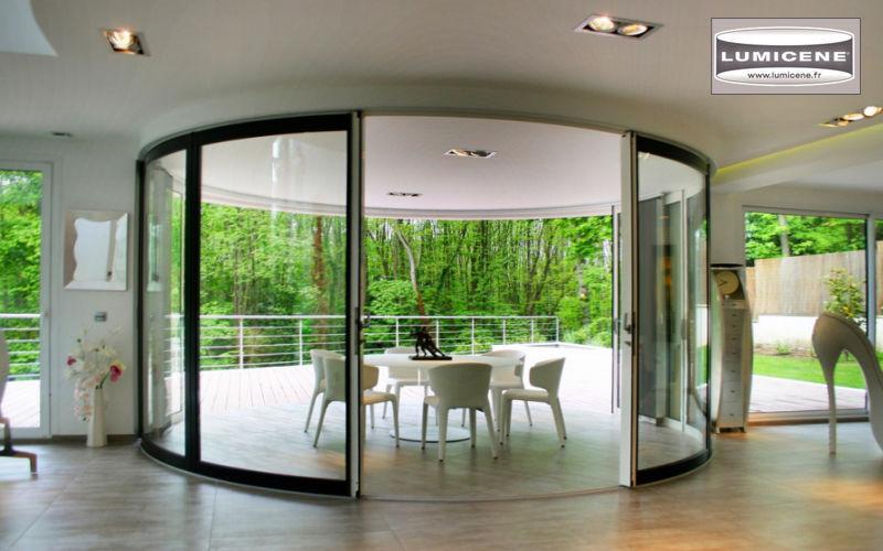 Lumicene Glasfensterfront Balkon-/Terrassentüren Fenster & Türen  |