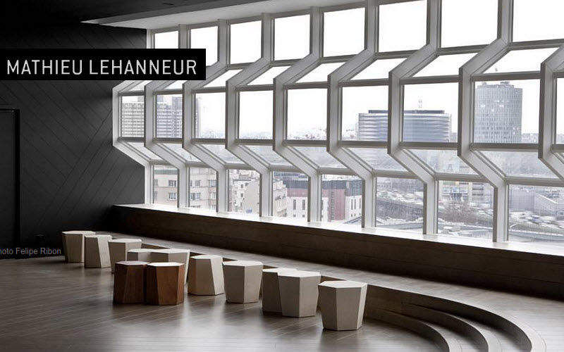 MATHIEU LEHANNEUR Hocker Schemel und Beinauflage Sitze & Sofas   