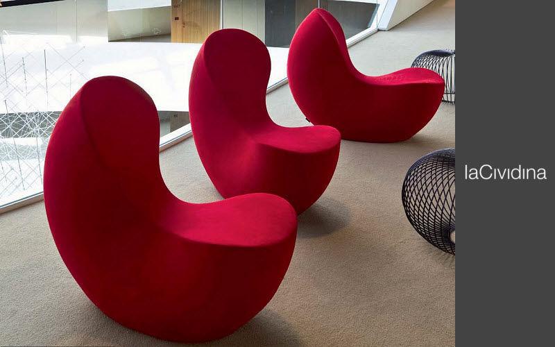 LA CIVIDINA Stuhl mit Armlehne Bürostühle Büro  |
