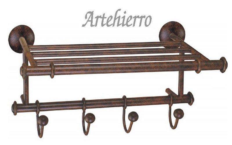 Artehierro Handtuchhalter mit Regal Badezimmeraccessoires Bad Sanitär  | Land