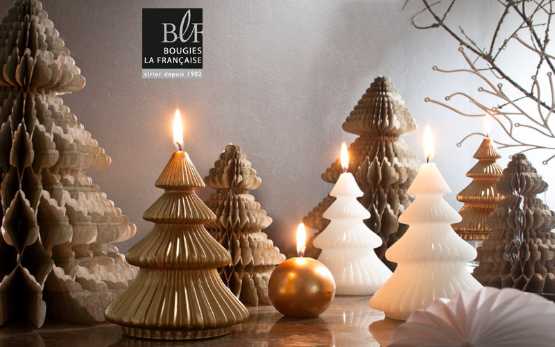 Bougies La Francaise Weihnachtskerze Weihnachtsdekoration Weihnachten & Feste   