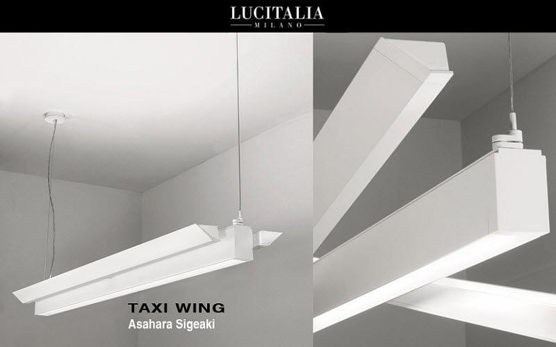 LUCITALIA Bürohängelampe Kronleuchter und Hängelampen Innenbeleuchtung   