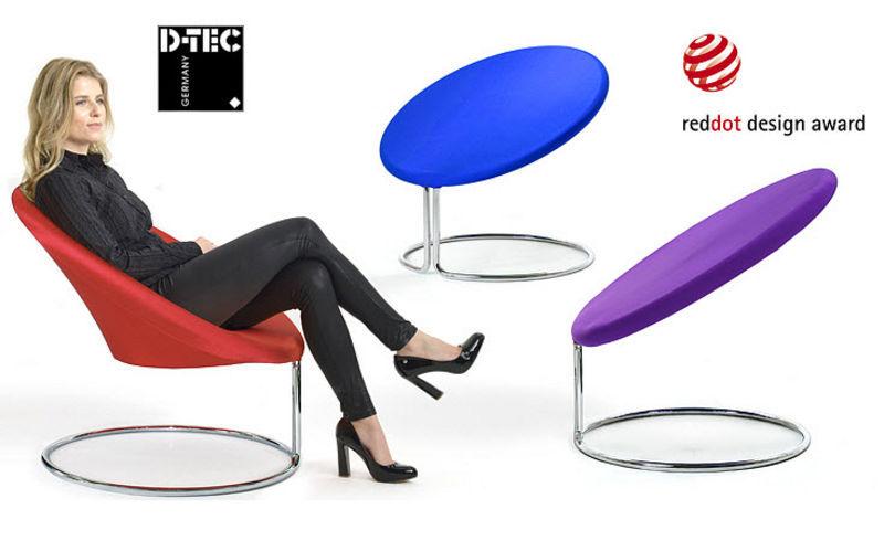 D-TEC Stuhl mit Armlehne Bürostühle Büro  |