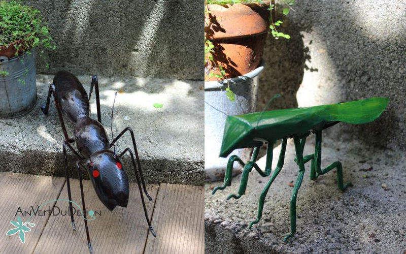 An Vert Du Design Tierskulptur Figuren und Skulpturen Kunst  |