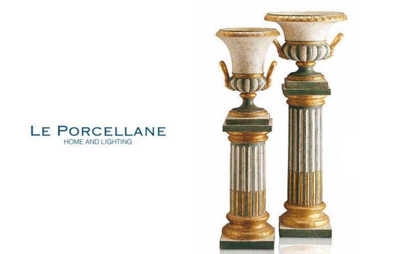 Le Porcellane Säule Architektur Verzierung  |