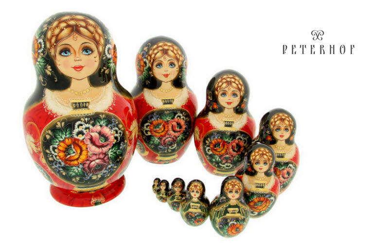 PETERHOF Matroschka Puppen Spiele & Spielzeuge   
