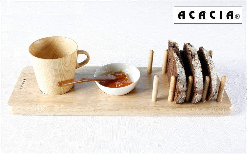 Acacia Brotbrett Schneiden und Schälen Küchenaccessoires  |